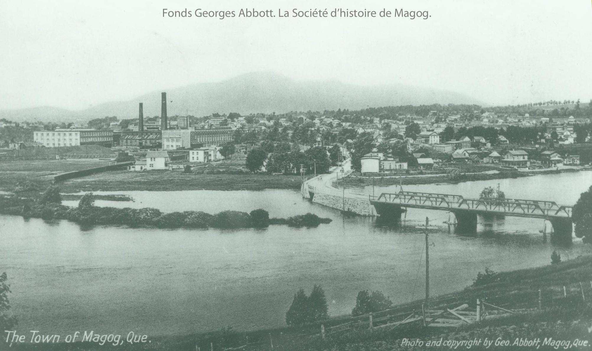 (413) Vue de Magog Par George Abbott-1