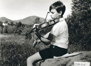Étudiant aux Jeunesses Musicales